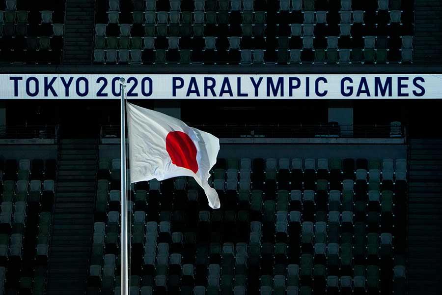 パラリンピック開会式の色鮮やかな光景に海外から注目が集まっている【写真:AP】