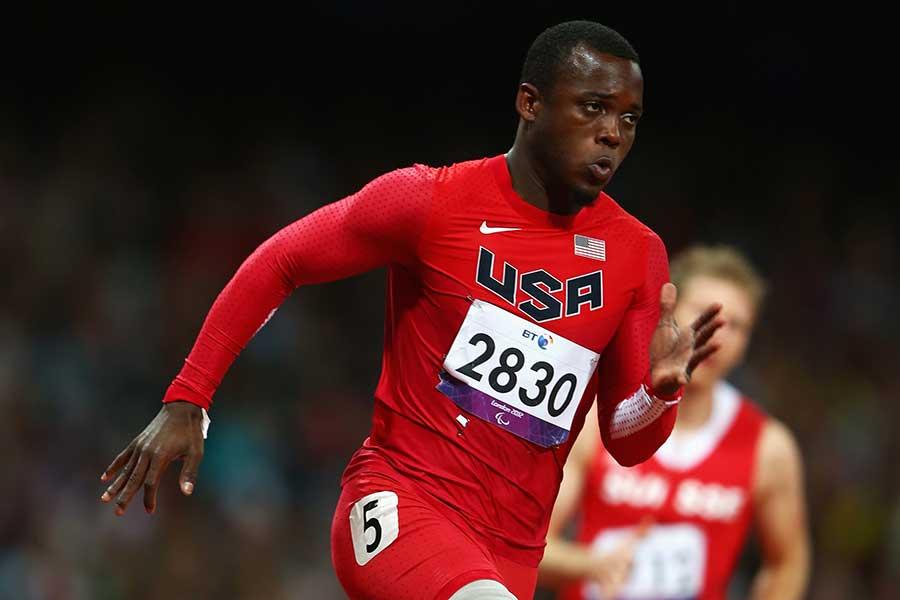 ロンドンパラリンピックでメダルを獲得しているブレーク・リーパーの動画が話題を呼んでいる【写真:Getty Images】
