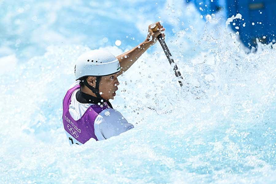 東京五輪10位となった羽根田卓也、競技後に流した涙の理由とは【写真:Getty Images】