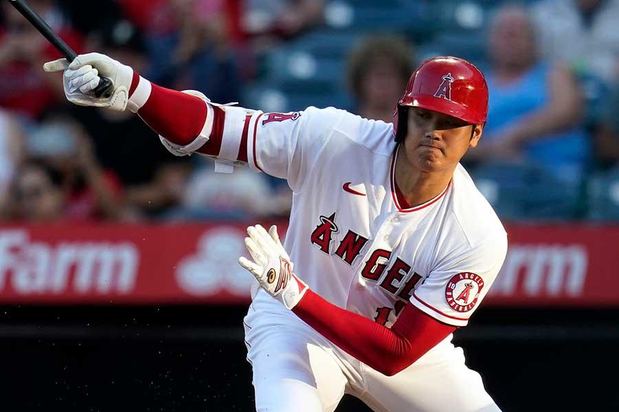 「2番・指名打者」で先発出場し、4打数無安打だった大谷翔平【写真:AP】