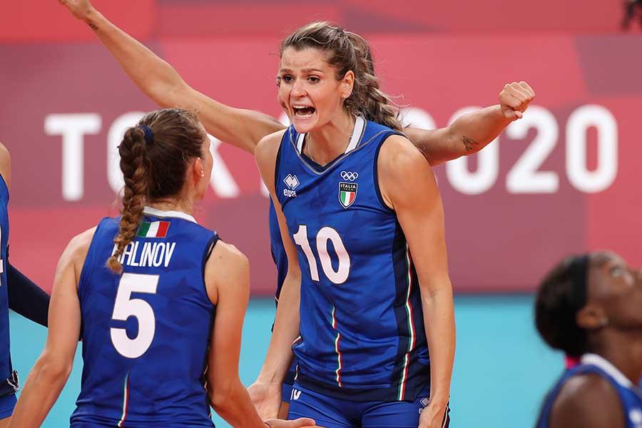 バレーボール女子イタリア代表のクリスティナ・キリケラ【写真:Getty Images】