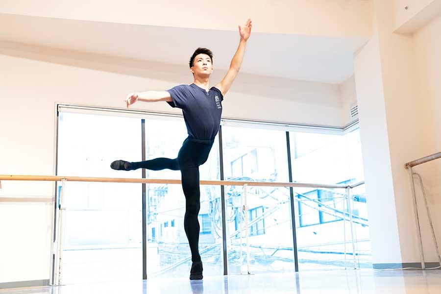 世界5大バレエ団の一つとも称されるABTのスタジオカンパニーでプロの一歩を踏み出す祐磨君【写真:南しずか】