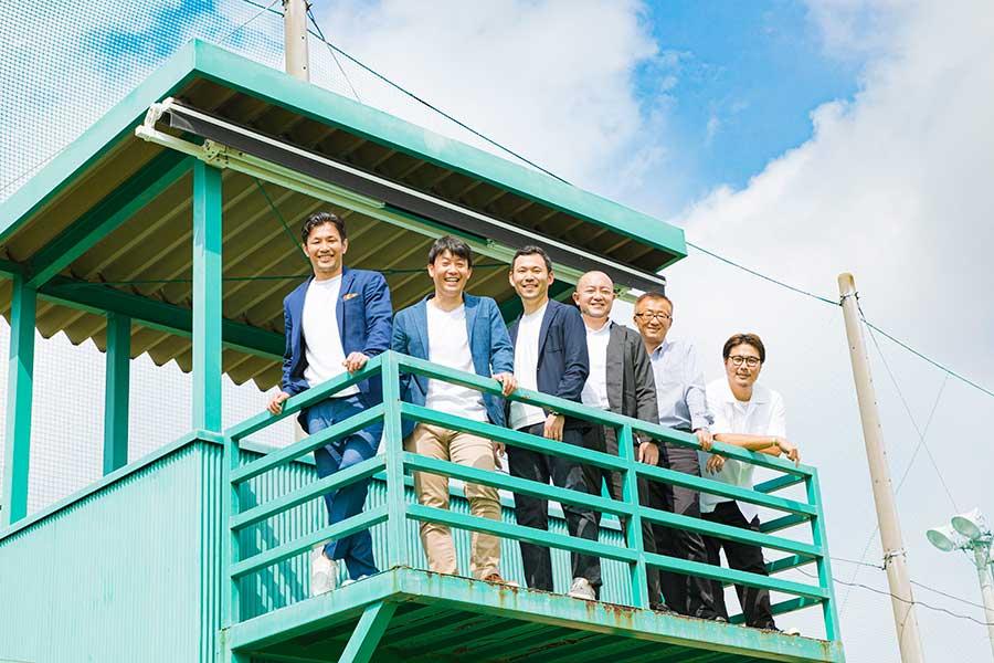 「APOLLO PROJECT」を立ち上げた6人の理事たち(左から)廣瀬俊朗さん、白崎雄吾さん、山内貴雄さん、神田義輝さん、八田茂さん、吉谷吾郎さん【写真提供:APOLLO PROJECT】