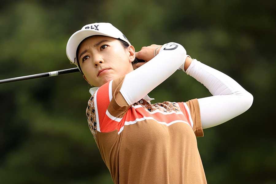 ホールインワンを達成した韓国出身のユン・チェヨン【写真:Getty Images】
