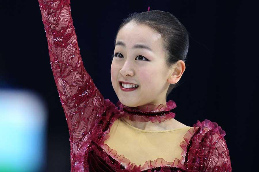バンクーバー五輪で銀メダルを獲得した浅田真央さん(撮影は2010年)【写真:Getty Images】