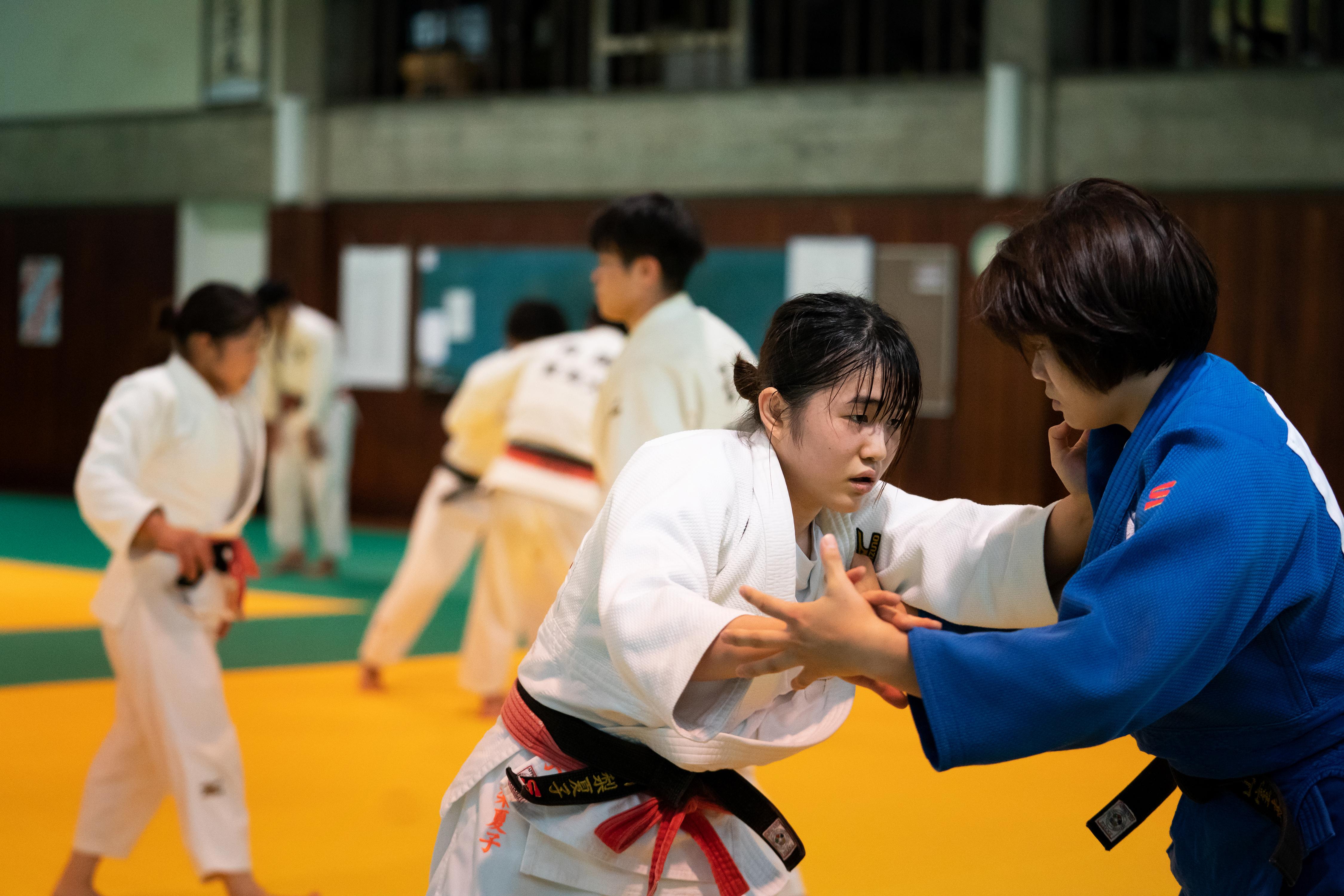 唯一の3年生・石川さんに1月から女子柔道部が託される