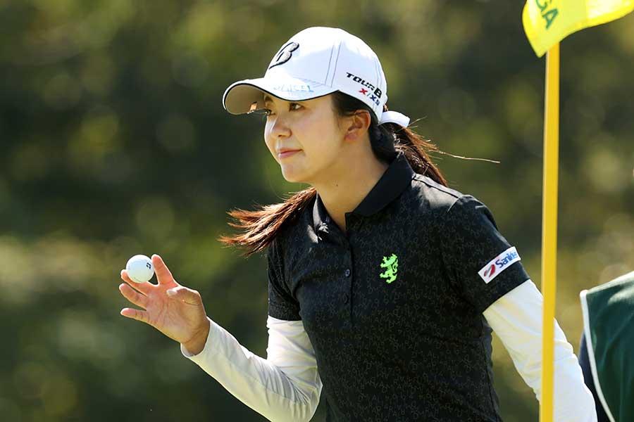 日本女子オープンで17位だった堀琴音【写真:Getty Images】