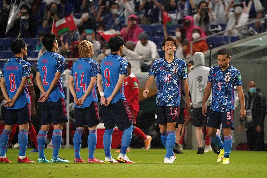 3試合で1勝2敗と苦境に立つサッカー日本代表【写真:Getty Images】
