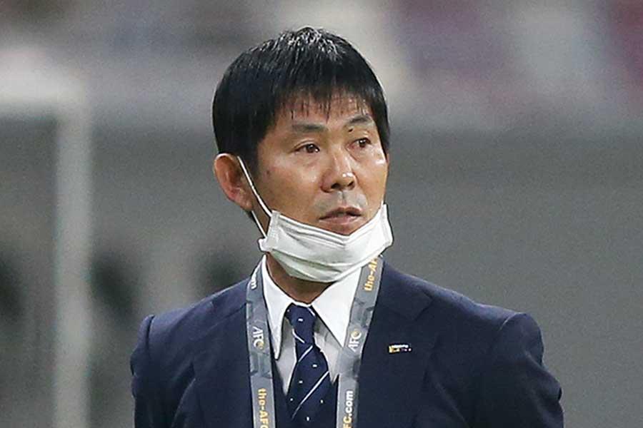 サッカー男子・日本代表の森保一監督【写真:Getty Images】
