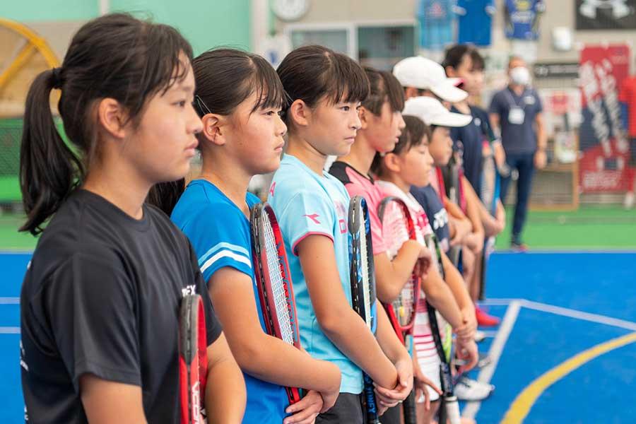 生かされていたコロナ禍の遠隔指導 福島の子どもに伝えた現役プロテニス選手の言葉